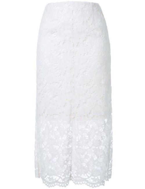 LE CIEL BLEU | Женская Белая Кружевная Юбка