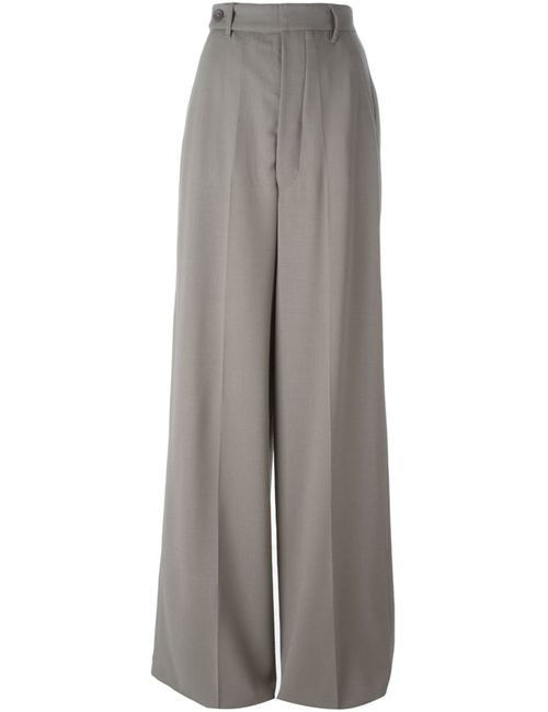 Rick Owens | Женское Серый High Waisted Palazzo Pants