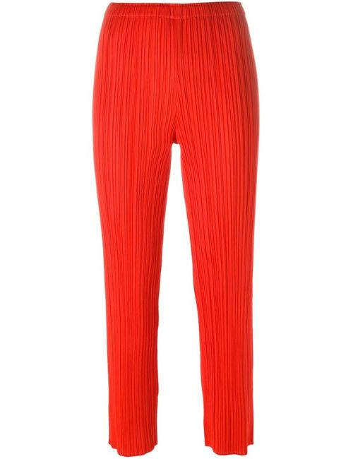 PLEATS PLEASE BY ISSEY MIYAKE | Женское Красный Cropped Pleated Trousers