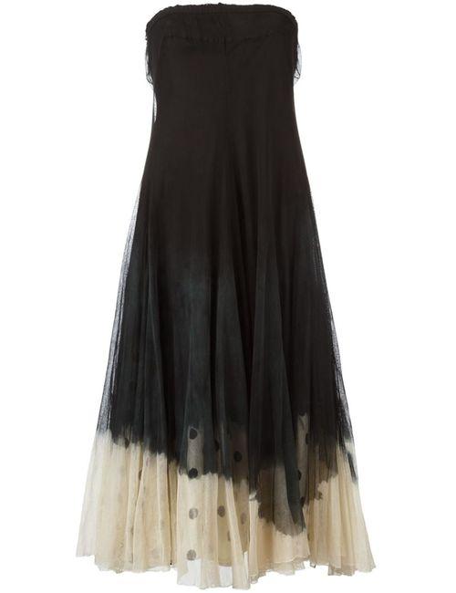 Marc Le Bihan | Женское Черный Расклешенное Платье