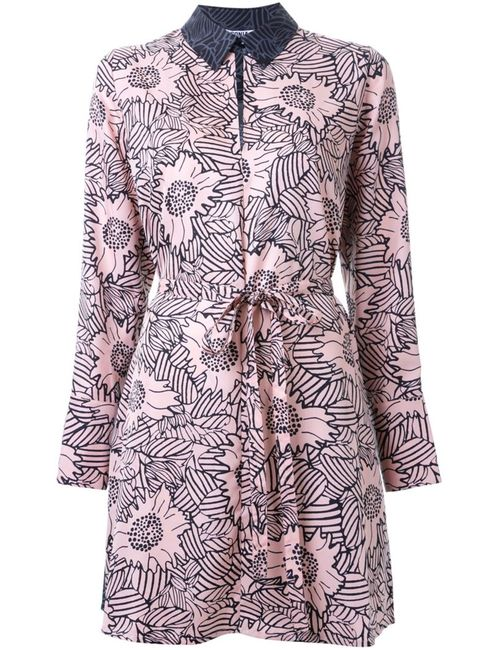 Sonia By Sonia Rykiel | Женское Розовый Print Shirt Dress