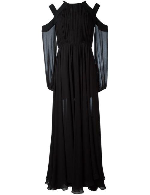 Lamania | Женское Чёрное Платье Hess