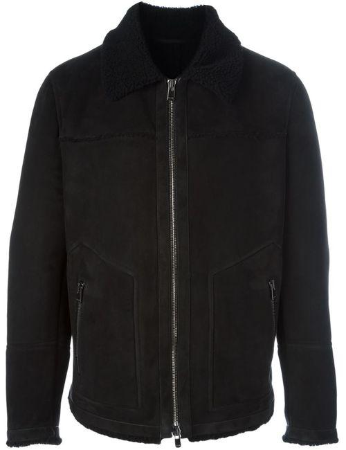 Drome | Мужская Чёрная Куртка На Молнии