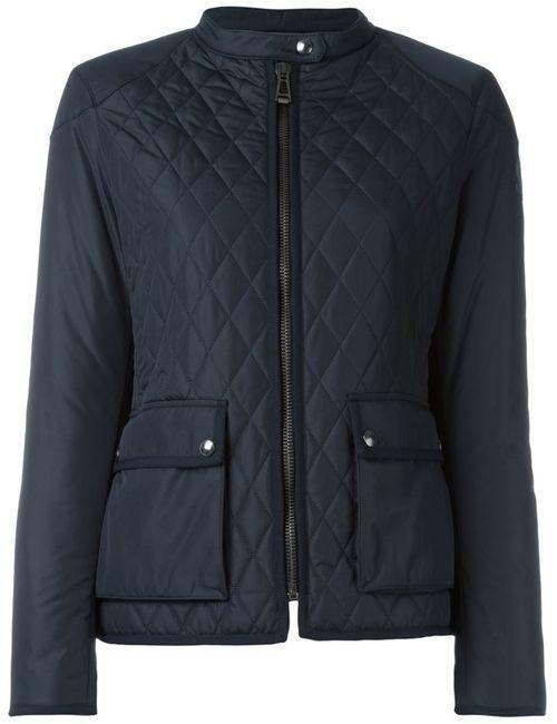 Belstaff | Женское Чёрный Zipped Quilted Jacket
