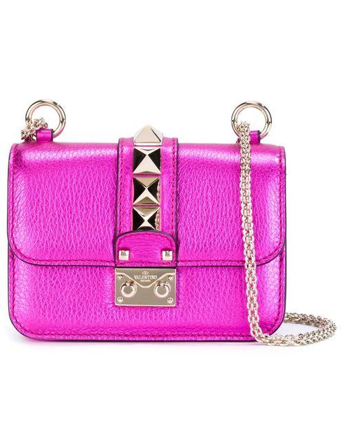 Valentino | Женская Розовая Сумка На Плечо Glam Lock