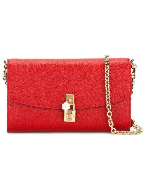 Dolce & Gabbana | Женская Красная Сумка Через Плечо Dolce