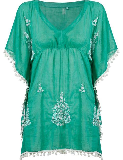 Sub | Женское Зелёный Embroidered Kaftan