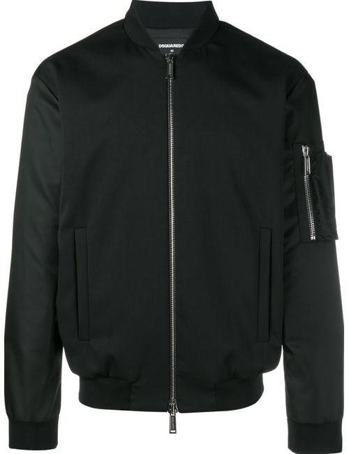 Dsquared2 | Мужское Чёрный Classic Bomber Jacket