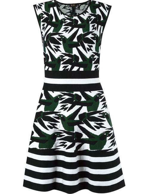 Gig | Женское Чёрный Flared Knit Dress