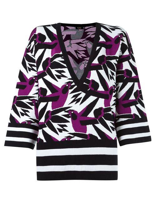 Gig | Женское Розовый Pattern Sweater