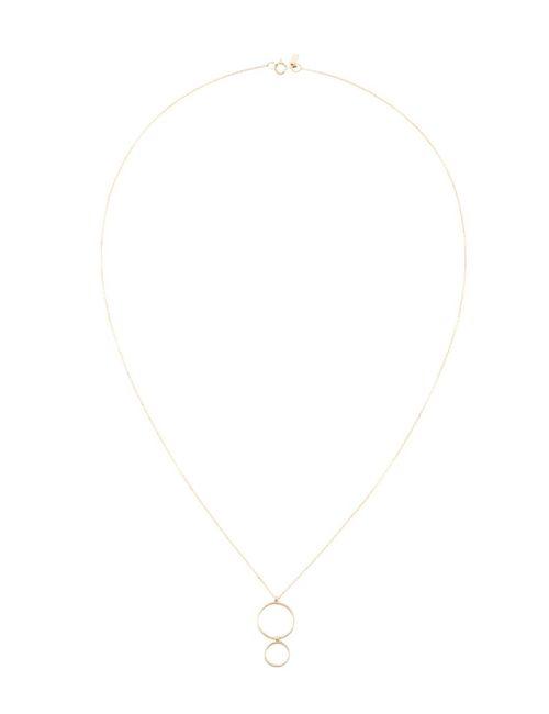 Sarah & Sebastian | Женское Серебристый Double Ring Necklace