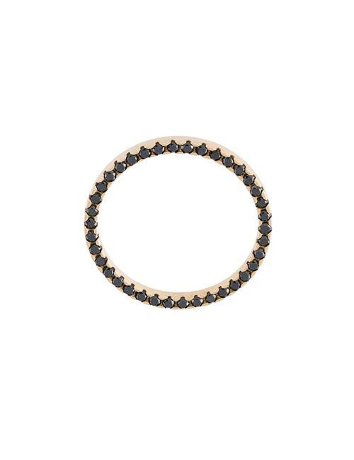 Sarah & Sebastian | Женское Серебристый Diamond Band Ring