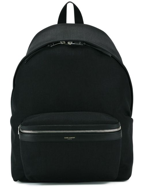 Saint Laurent | Мужское Черный City Backpack