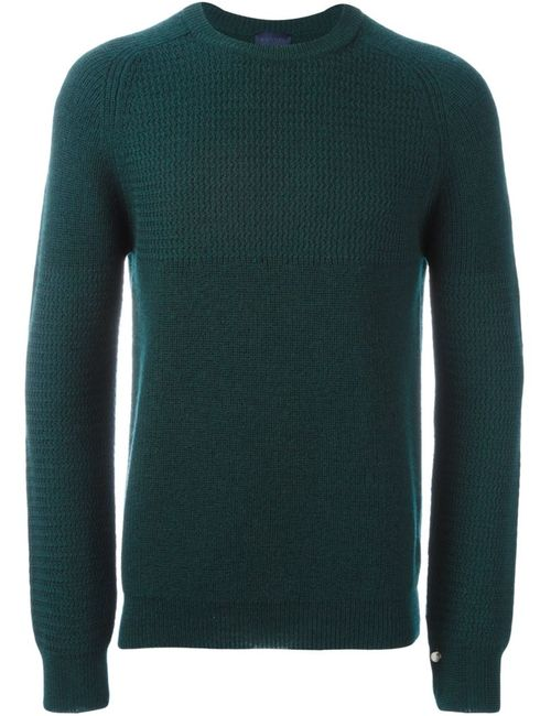 Lanvin | Мужской Зелёный Вязаный Джемпер