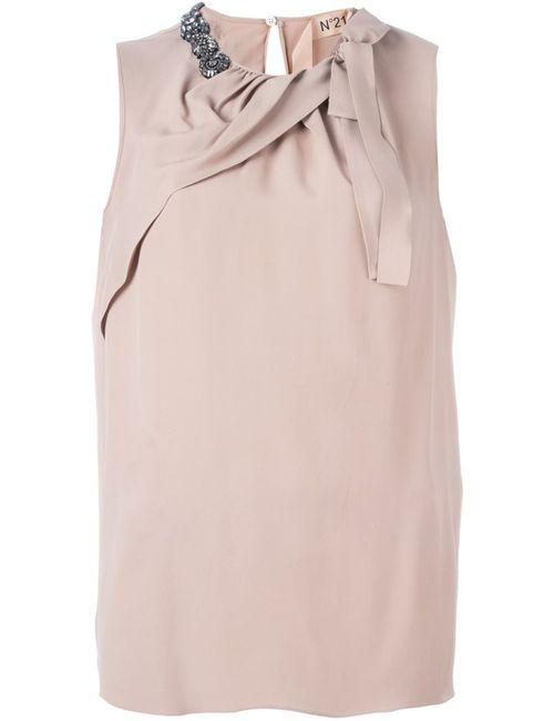 No21 | Женская Блузка С Украшением