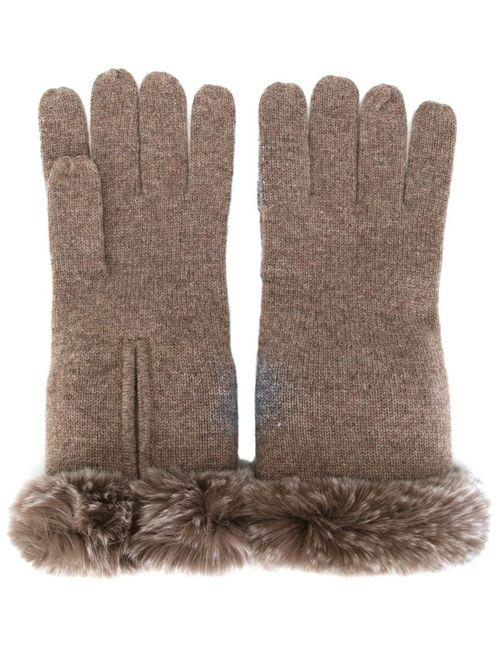 N.PEAL | Женское Коричневый Gloves