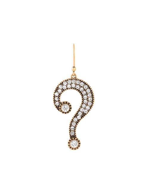 Marc Jacobs | Женское Серебристый Question Mark Earring