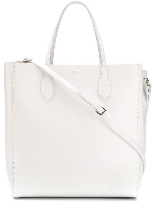 Rochas | Женское Белый Scallop Trim Shopper Bag