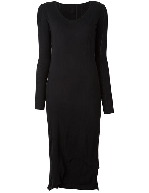 THOM KROM | Женское Чёрный Ribbed Midi Dress