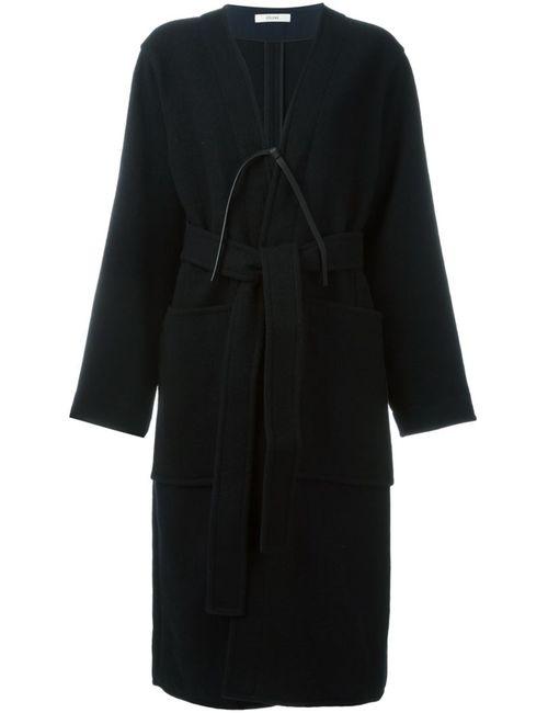 Céline | Женское Чёрный Belted Coat