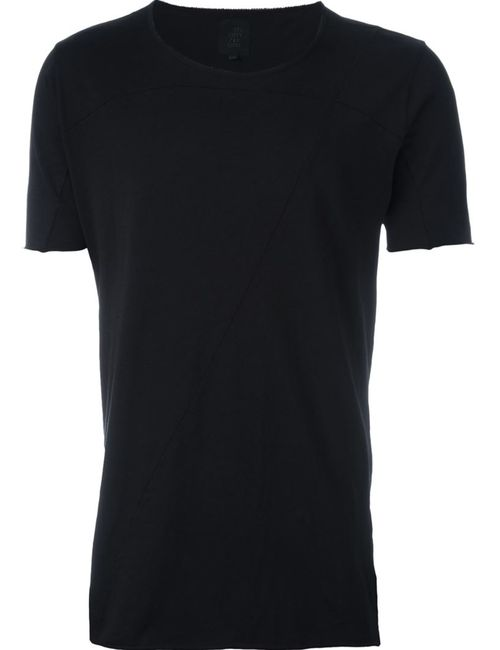 THOM KROM | Мужское Черный Panelled T-Shirt