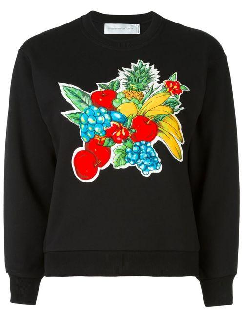 Victoria, Victoria Beckham | Женская Чёрная Толстовка Fruit Basket