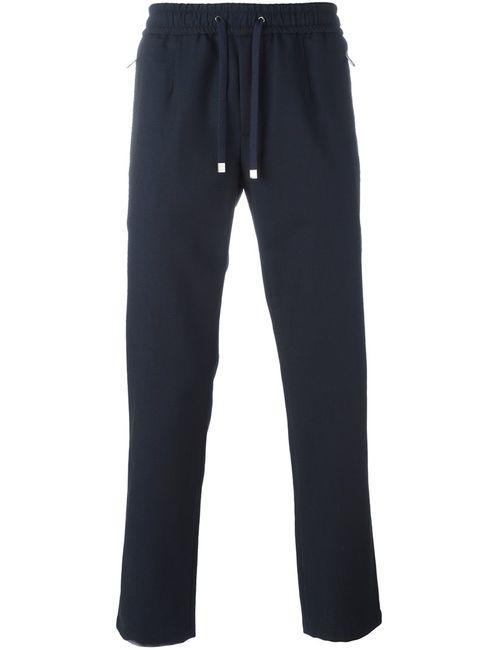 Dolce & Gabbana | Мужские Синие Спортивные Брюки