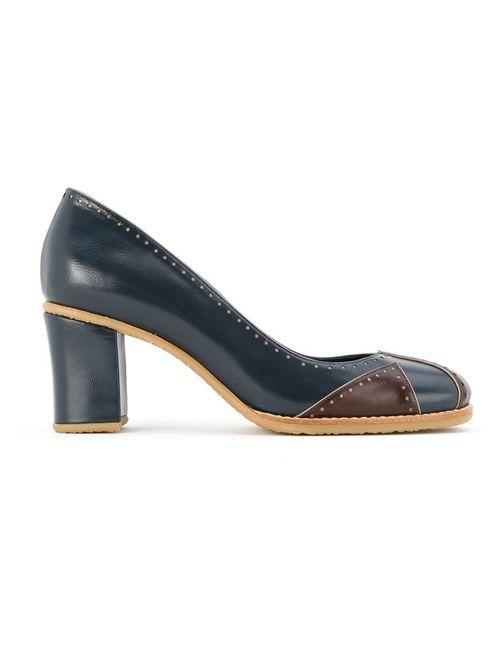 Sarah Chofakian | Женское Синий Leather Pumps