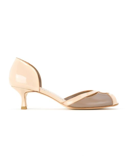 Sarah Chofakian | Женское Nude & Neutrals Leather Sandals