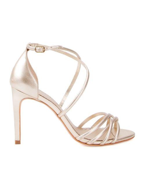 Sarah Chofakian | Женское Серебристый Strappy Sandals