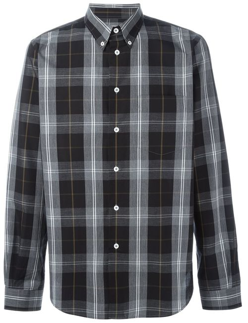 PS PAUL SMITH | Мужское Чёрный Button Down Plaid Shirt