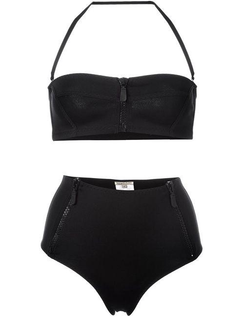 Emilio Pucci | Женское Чёрный Zipped High-Rise Bikini