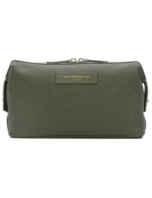 Want Les Essentiels De La Vie | Мужское Зелёный Kenyatta Wash Bag
