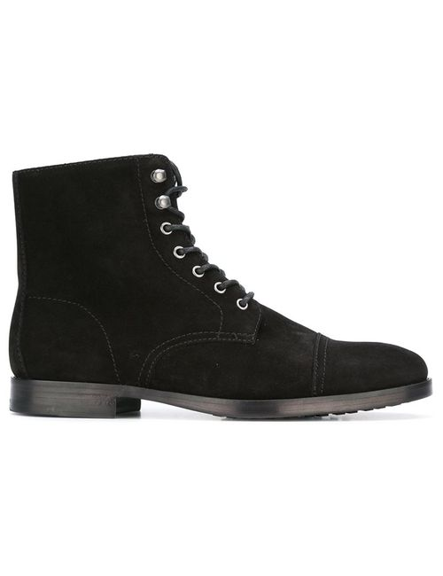 Polo Ralph Lauren | Мужские Чёрные Ботинки На Шнуровке