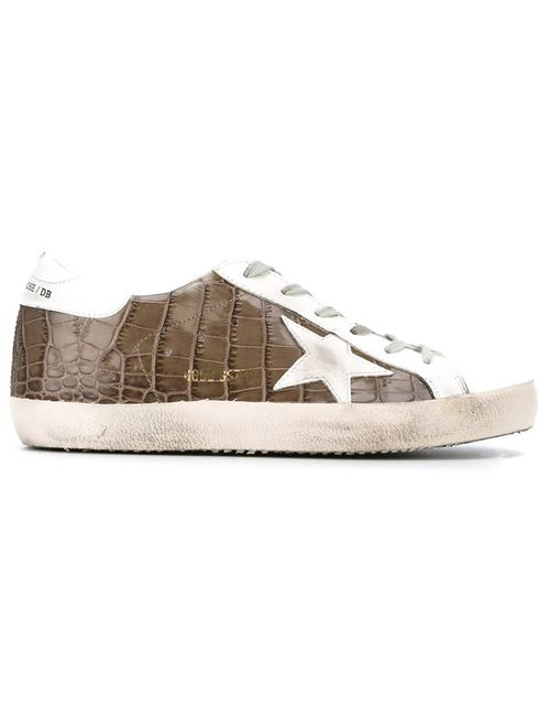 Golden Goose | Женское Белый Deluxe Brand Super Star Sneakers