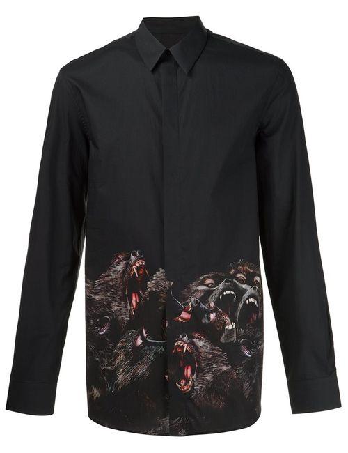 Givenchy   Женское Чёрный Baboon Print Shirt