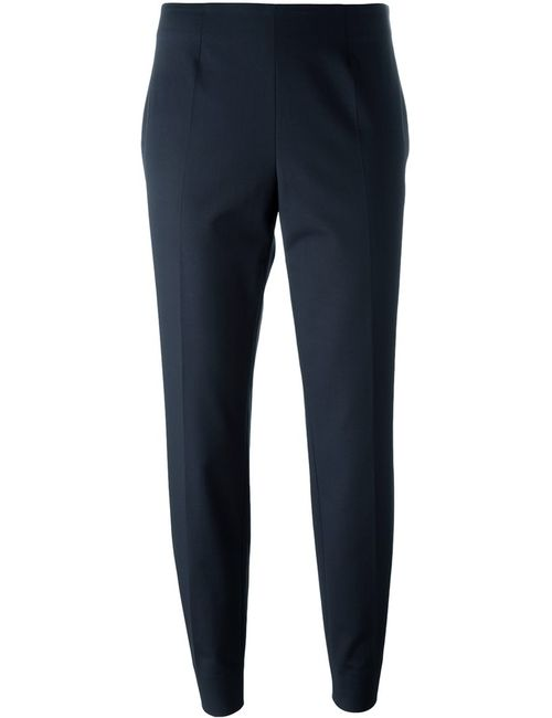 Piazza Sempione | Женское Синий Cigarette Cropped Trousers