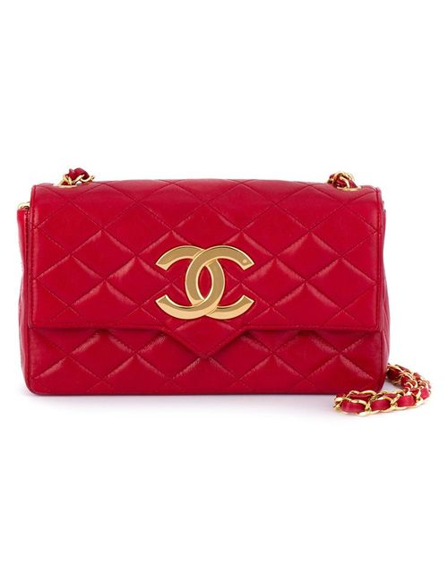 Chanel Vintage | Женское Красный Logo Plaque Shoulder Bag