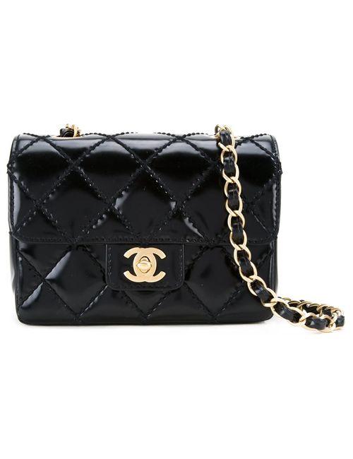 Chanel Vintage   Женская Чёрная Сумка На Плечо 2.55