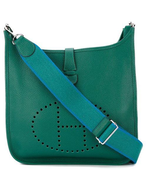 Hermès Vintage   Женская Зелёная Сумка На Плечо Evelyne Tpm