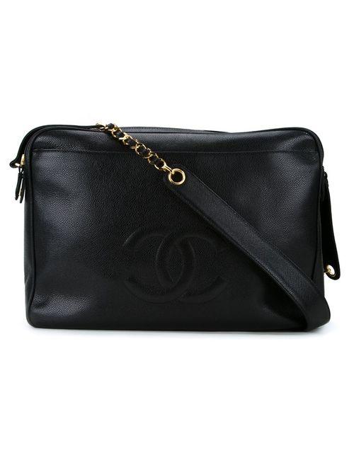 Chanel Vintage | Женское Чёрный Cc Logo Messenger Bag