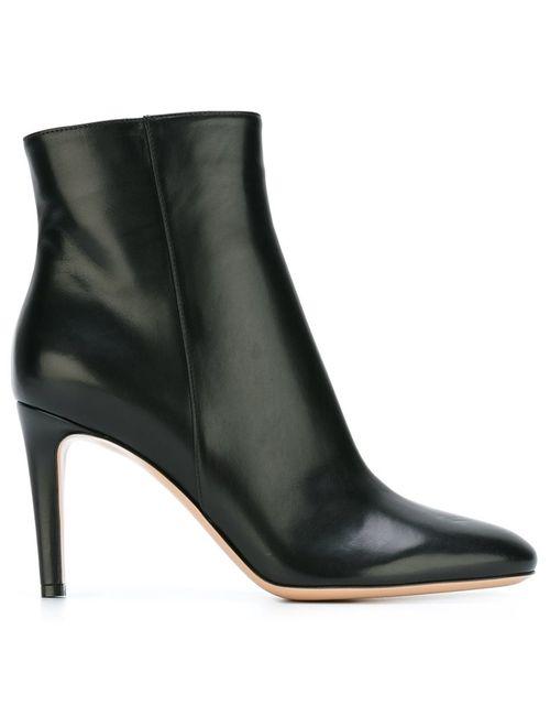 Gianvito Rossi | Женские Чёрные Ботинки По Щиколотку