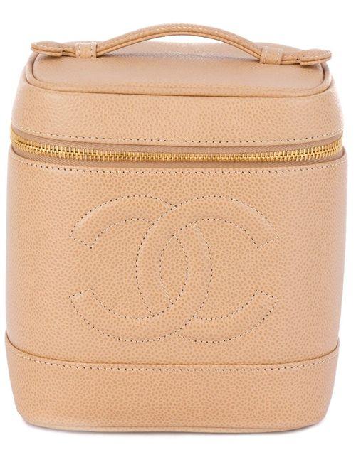 Chanel Vintage | Женское Embossed Logo Vanity Case
