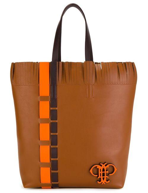 Emilio Pucci | Женское Коричневый Frilled Rectangular Shoulder Bag