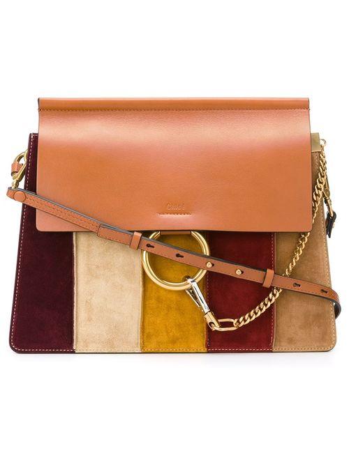 Chloe | Женское Chloé Striped Faye Shoulder Bag