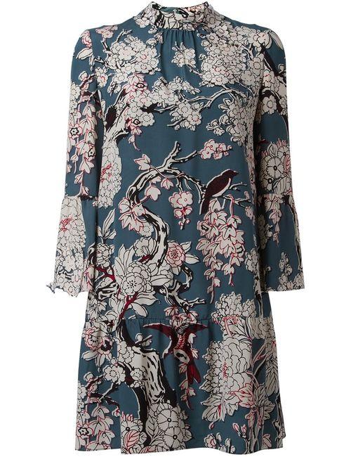 Valentino | Женское Многоцветное Платье Enchanted Tree