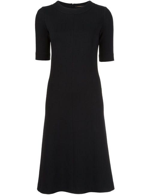 Agnona | Женское Черный Платье Миди
