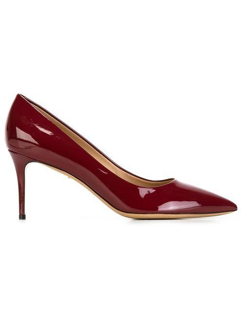 Salvatore Ferragamo | Женские Красные Туфли Susi