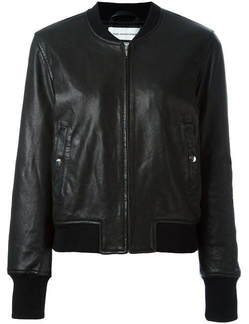 ISABEL MARANT ÉTOILE | Женская Черный Куртка Бомбер Brantley
