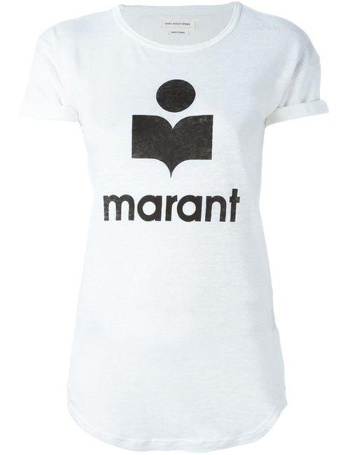 Isabel Marant Étoile | Женская Белая Футболка Koldi